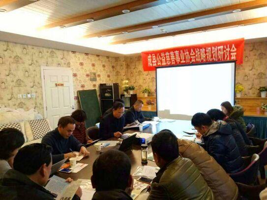 成县公益慈善事业协会战略规划研讨会