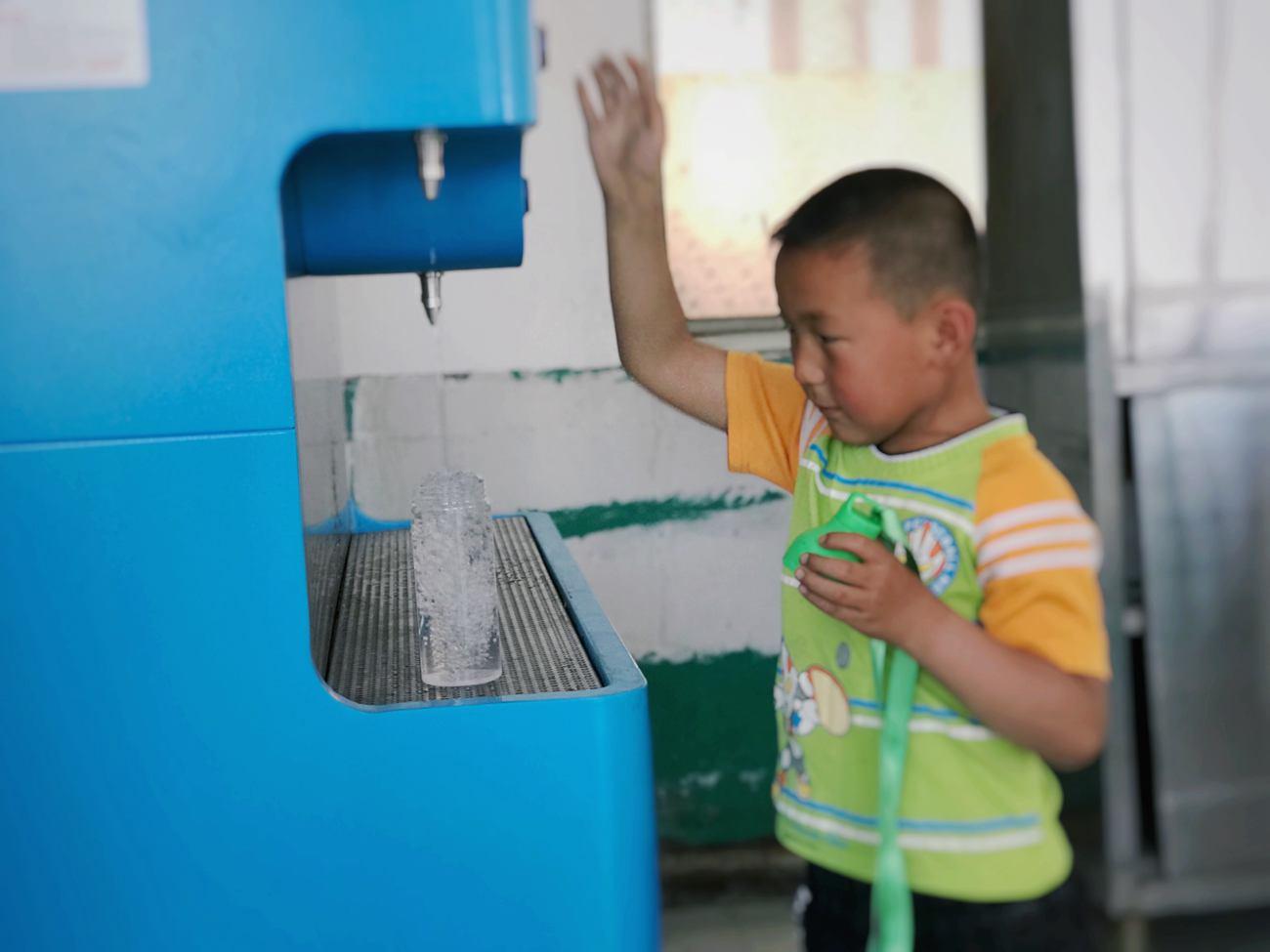 净水计划   小设备,大公益——辽宁省净水计划项目联合督导